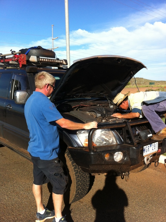 Car trouble in Karratha