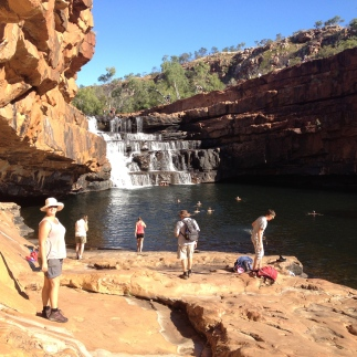Bell Gorge Waterfall and Swimming Hole