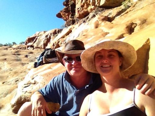 Craig & Em at Bell Gorge