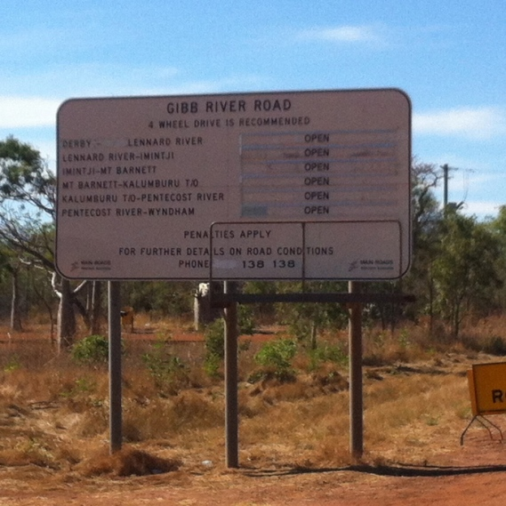 Gibb River Road is open