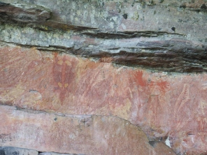 Rockart at Ubirr
