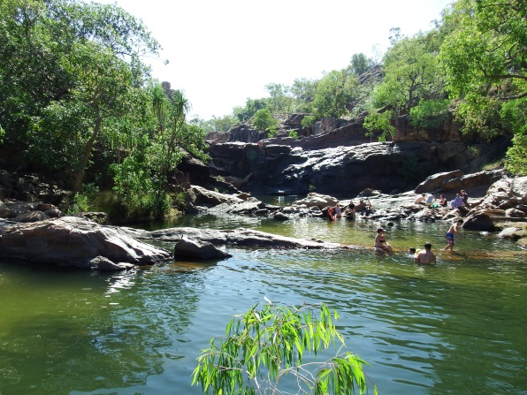 Gunlom Swimming Holes
