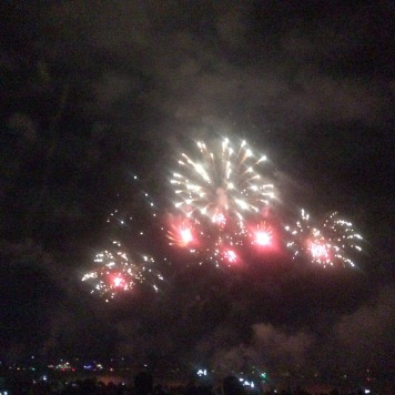 Territory Day fireworks
