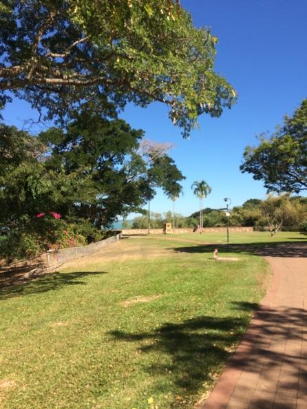The Darwin bicentennial park