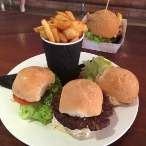Emma's Mini Burger Combo