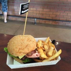 Craig's Cheese and Bacon Hamburger