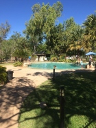 Swimming Pool at the campground in Nitmiluk NP