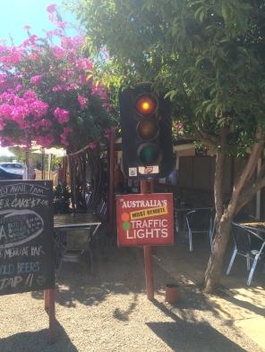 Australia's most remote traffic lights