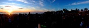 Territory Day sunset