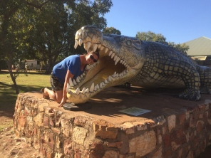 The big crocodile, Normanton QLD