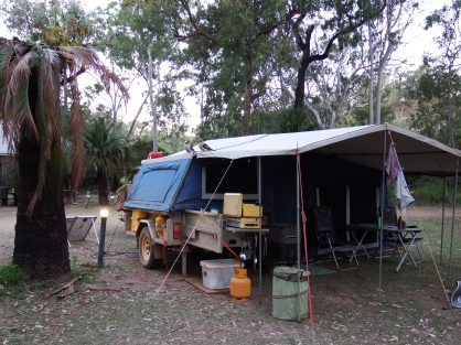 Camp at Takaraka