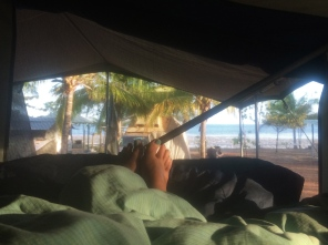 View from the tent - Seisia