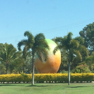 The 'Big Mango' in Bowen