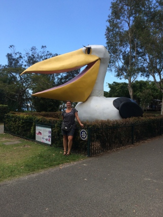 Em with the Big Pelican