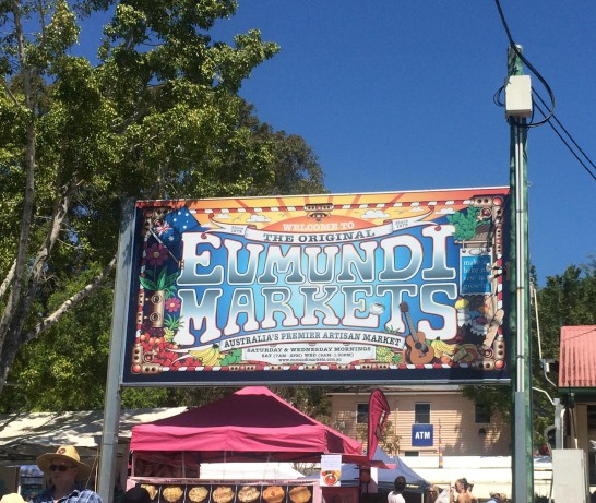 The Eumundi Market, visit from Noosa, QLD