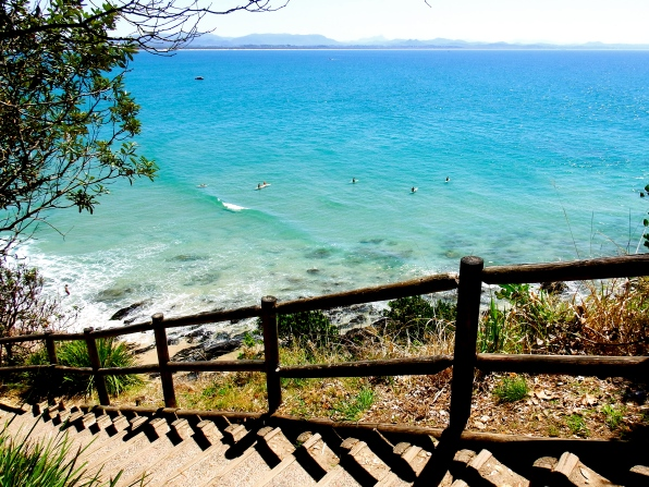 Byron Bay coastal walking track